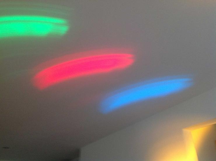 Bild 3: Lichteffektgerät in einem optisch und technisch exzellenten Zustand