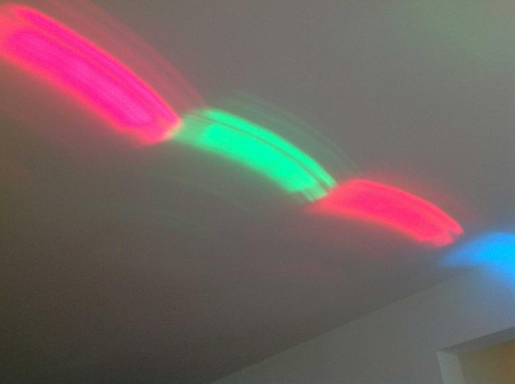 Bild 4: Lichteffektgerät in einem optisch und technisch exzellenten Zustand