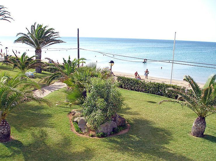 Bild 3:  Spanien, Costa Blanca,  Denia, 1. Strandlinie
