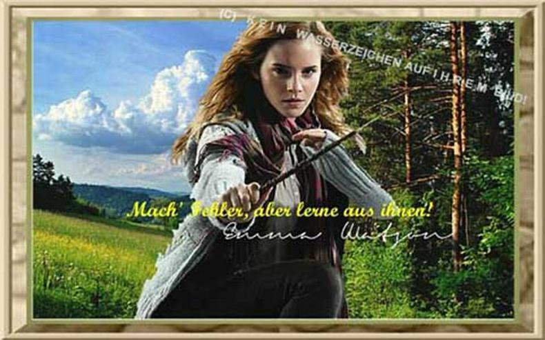 Bild 4: EMMA WATSON. Deko. Geschenk. Souvenir. Andenken. Wandbild. Autogramm. Poster.