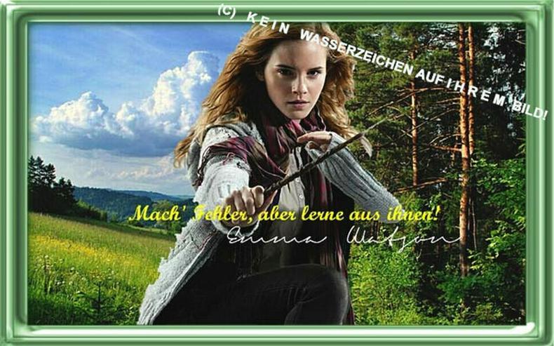 Bild 6: EMMA WATSON. Deko. Geschenk. Souvenir. Andenken. Wandbild. Autogramm. Poster.