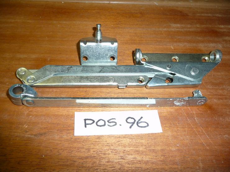 GU-Öffnerschere mit starrer Flügelstütze,K-12348-00-0-1,silber,TItan K62/20,neu - Holzverarbeitung - Bild 1