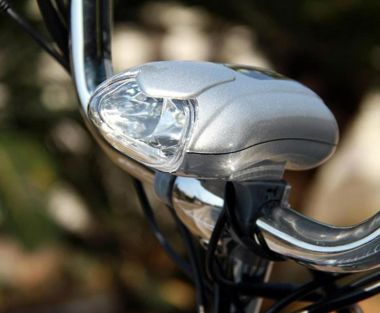 Bild 3: Elektrofahrrad E-Bike Motor 118x116x63cm Silber 2018 Neu