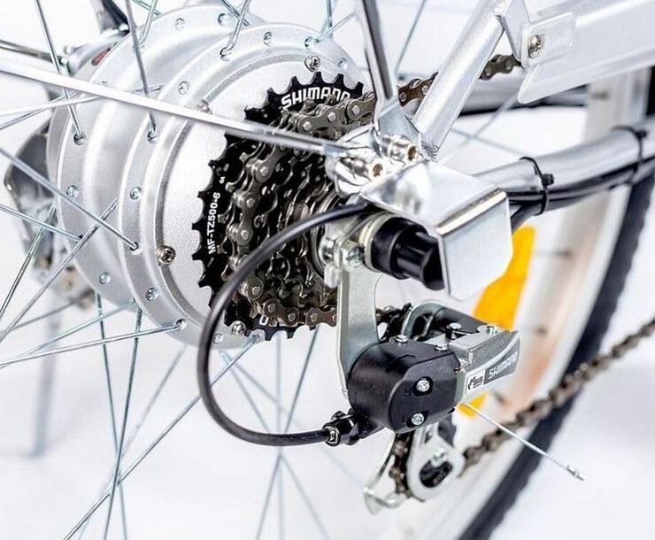 Bild 6: Elektrofahrrad E-Bike Motor 118x116x63cm Silber 2018 Neu
