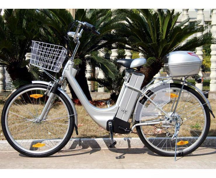 Elektrofahrrad E-Bike Motor 118x116x63cm Silber 2018 Neu