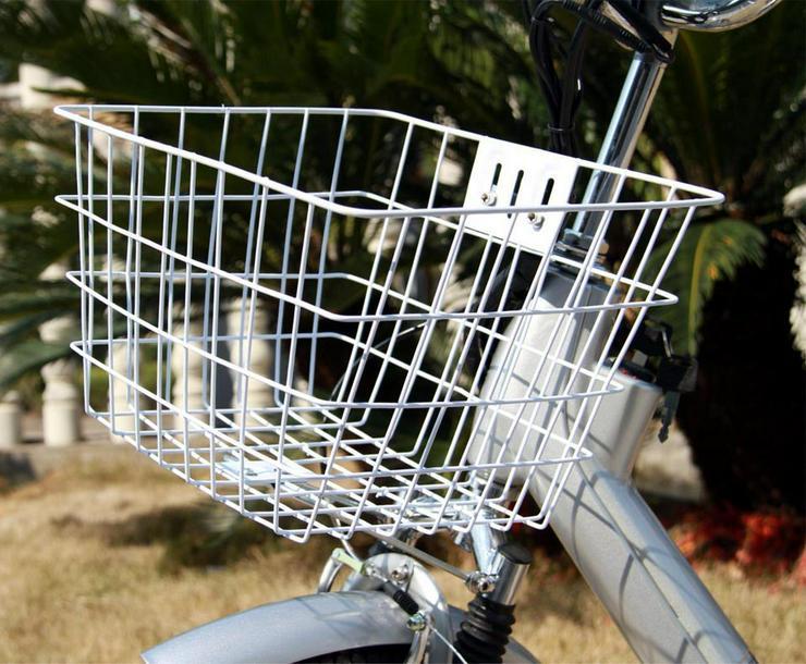 Bild 2: Elektrofahrrad E-Bike Motor 118x116x63cm Silber 2018 Neu