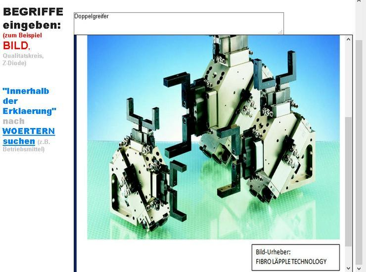 Bild 2: Elektronische Bauteile werden erklaert