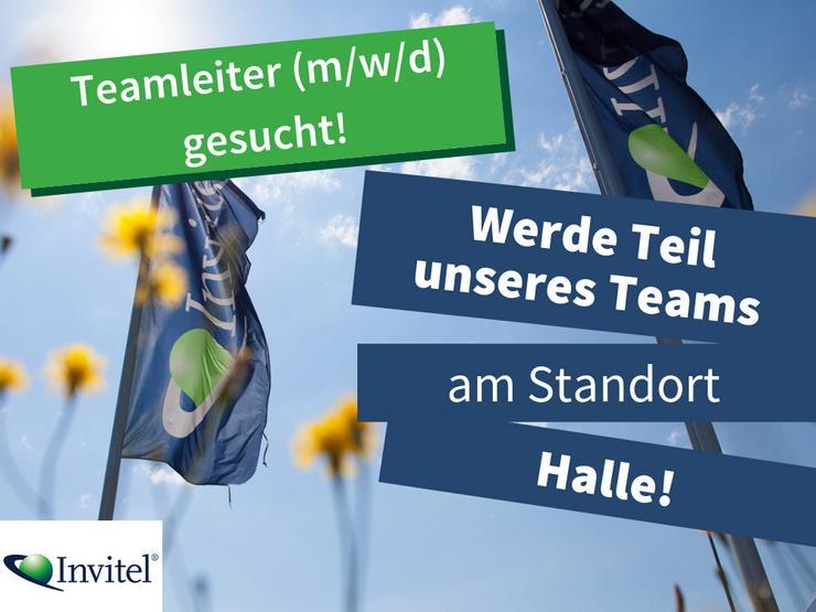 Teamleiter im Inbound (m/w/d) in Halle gesucht