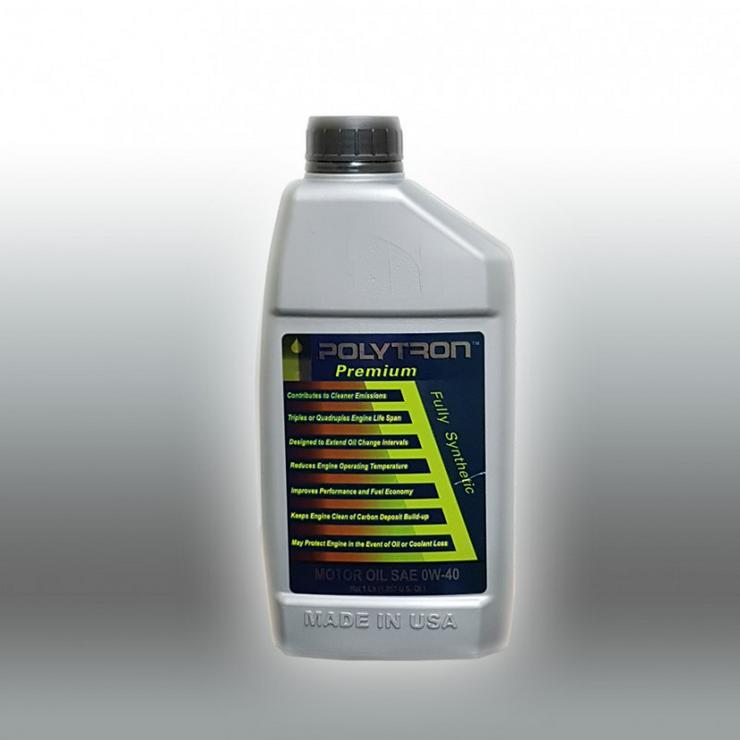 POLYTRON 0W40 Vollsynthetisches Motoröl - Ölwechselintervall 50.000 km