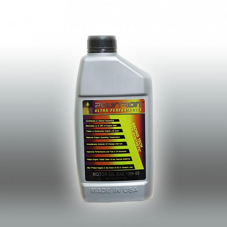 POLYTRON 10W60 Vollsynthetisches Motoröl - Ölwechselintervall 50.000 km