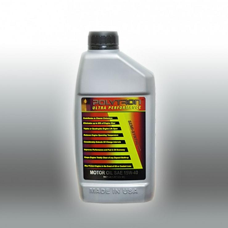 POLYTRON 15W40 Semisynthetisch Motoröl - Ölwechselintervall 25.000 km