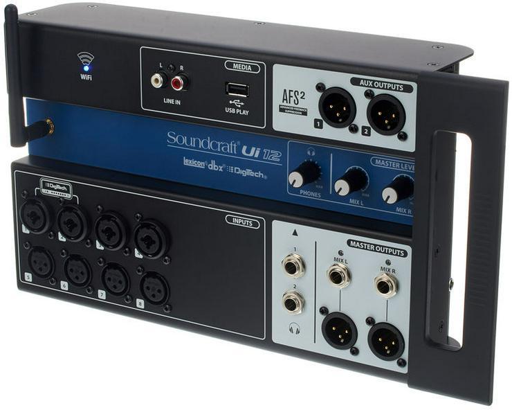 Soundcraft Ui12 12-Kanal Digitalmischpult ausleihen - Mietangebot