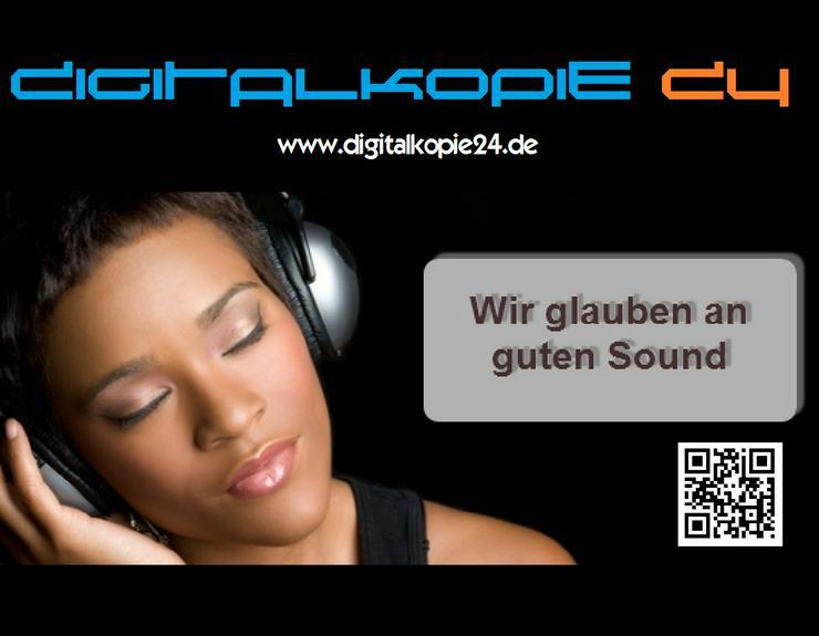 Professionelle Digitalisierung von Videos, Audio-Kassetten, Schallplatten, Tonbändern, DAT, MD uvm.