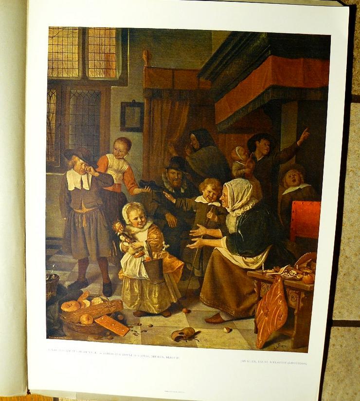 Jan Steen Das St. Niklasfest um 1650 (B030)