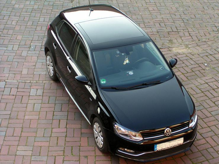 VW Polo 1.0 Comfortline Lounge, Chrom Ed. Panorama Ausstelldach Tempo MP3 Climatronic Berganfahrassistent Multifunktions Lenkrad  Alu Felgen VB                              - Polo - Bild 1