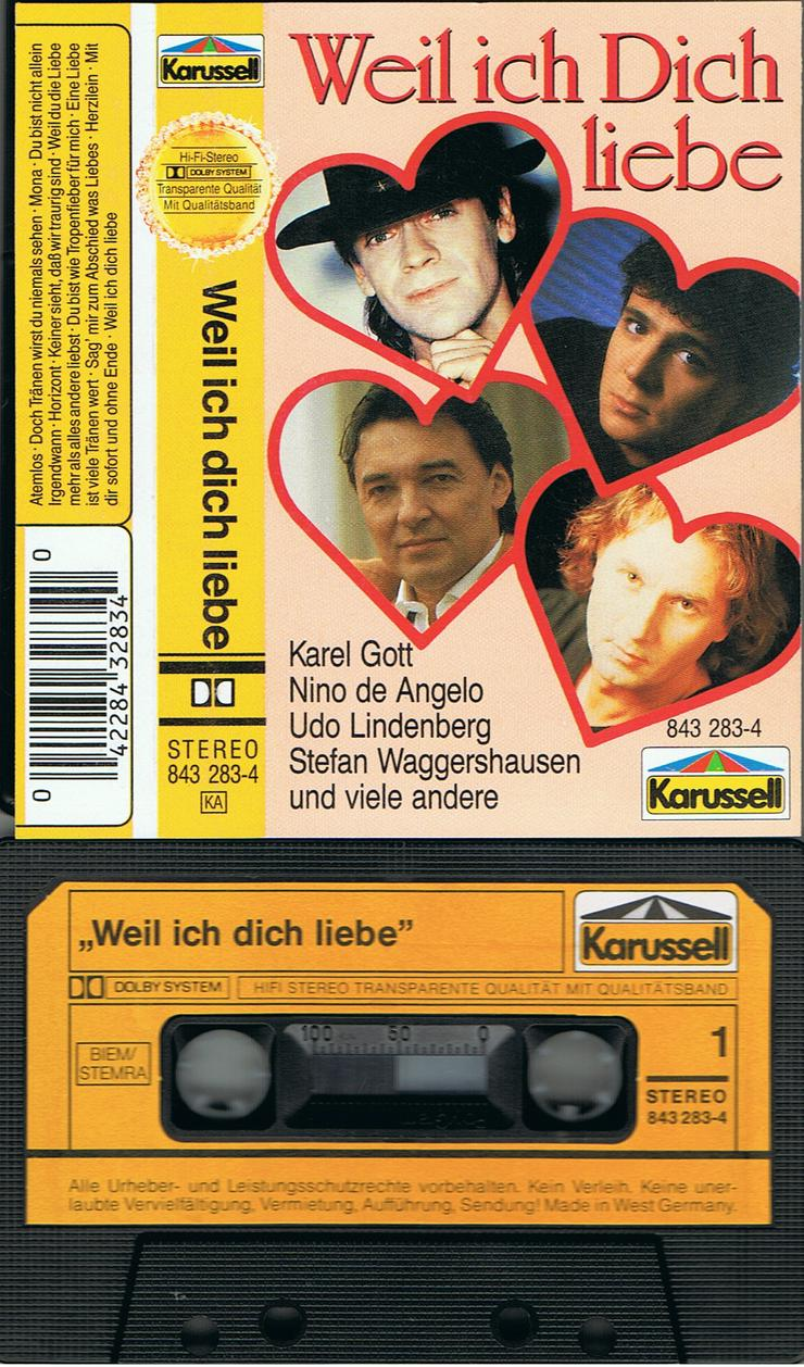 """""""Weil Ich Dich Liebe"""" mit Udo Lindenberg usw."""