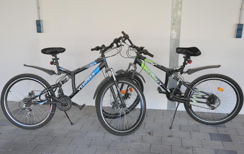Optisch ansprechende und moderne Mountainbikes