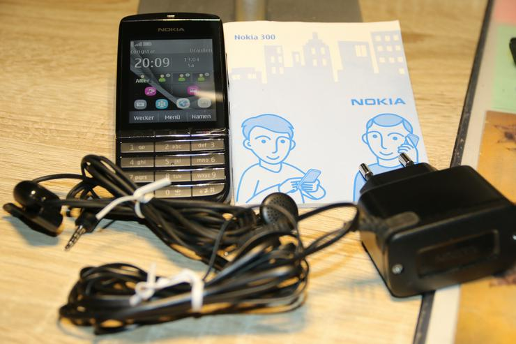 Nokia Asha 300 Graphite  (Ohne Simlock)