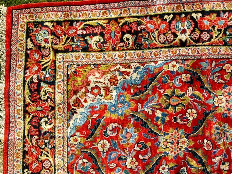 Bild 4: Orientteppich Saruk-Mahal von ca. 1900 (T082)