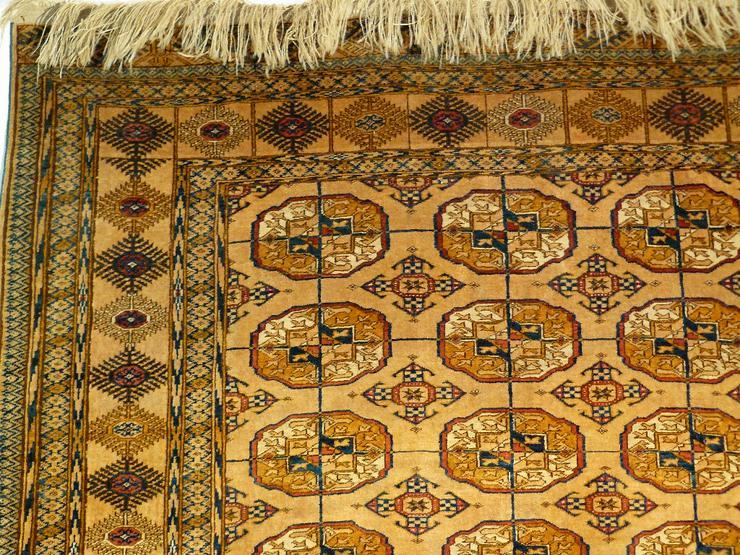 Bild 2: Orientteppich, Tekke, antik, superfein (T084)