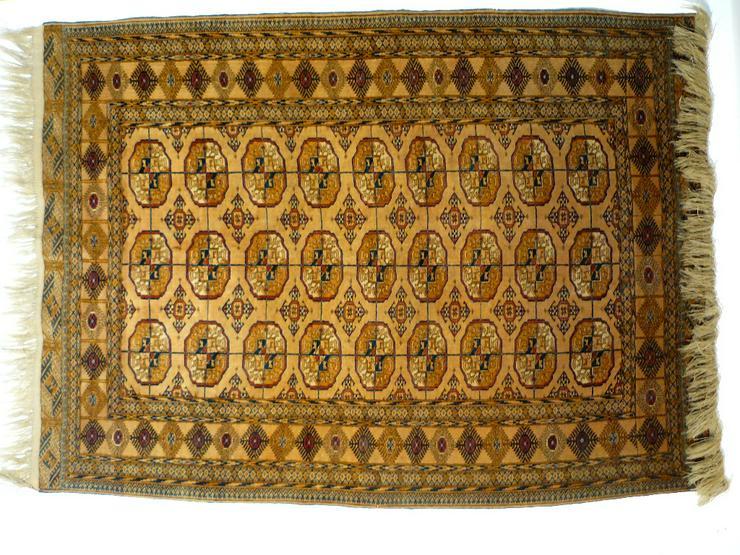 Orientteppich, Tekke, antik, superfein (T084) - Fliesen & Teppiche - Bild 1