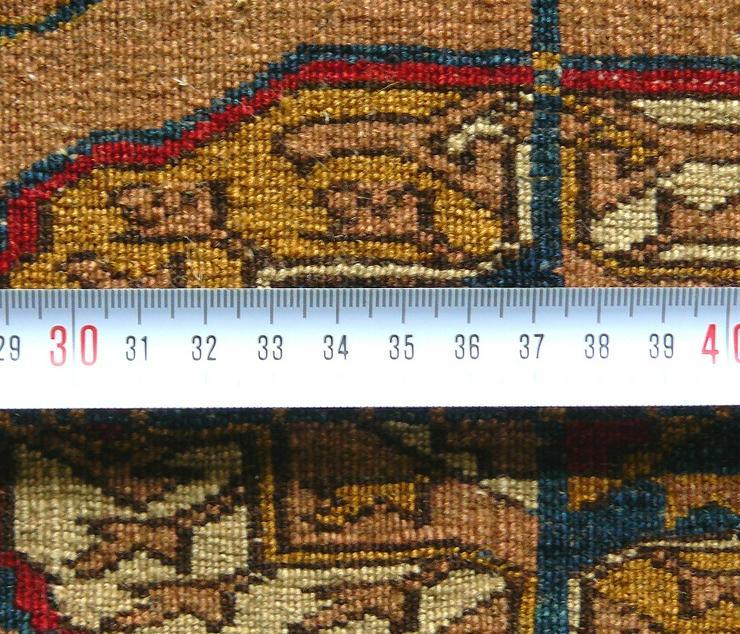Bild 4: Orientteppich, Tekke, antik, superfein (T084)