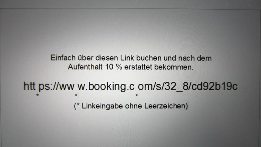 Bild 2: Reisegutschein / Rabatt bei Booking  Rückerstattung. Cashback com