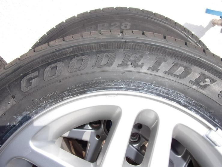 Bild 3: 4 neue Sommerreifen Goodride 195/65 R15, 91H auf BMW Alufelgen.
