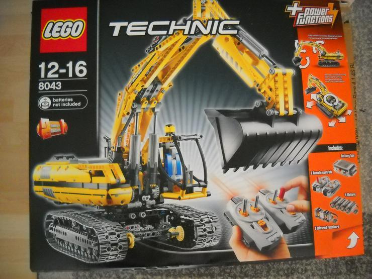 Lego Technik Bagger 8043