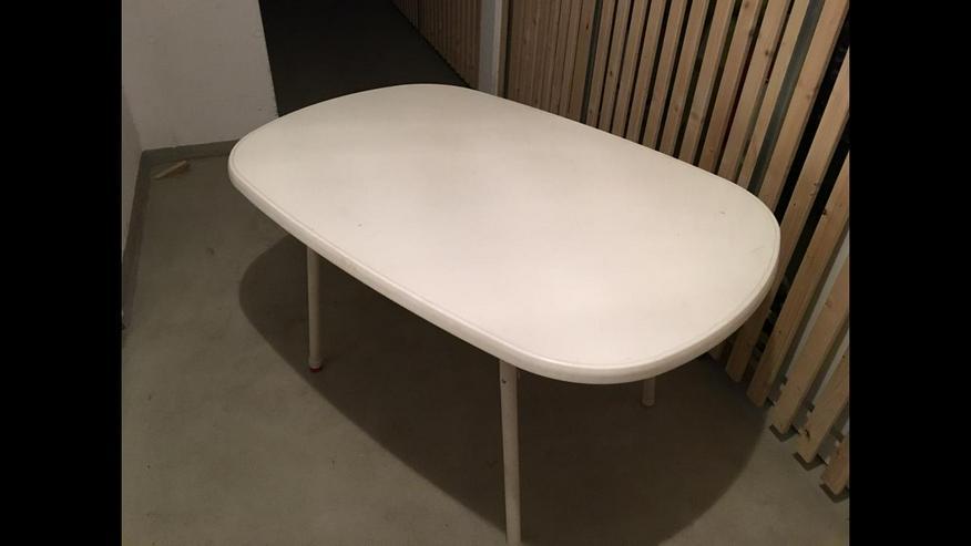 Gartentisch - Weiss - Stabil & Flexibel
