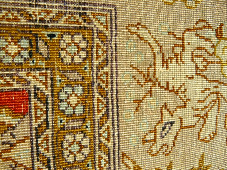 Bild 6: Orientteppich Ghom Seide 164x110 TOP (T044)
