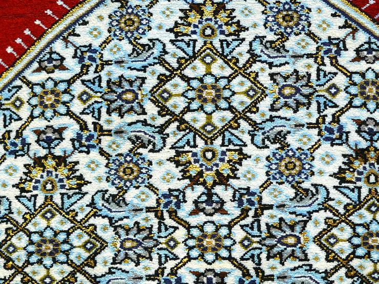 Bild 5: Orientteppich Ghom mit Seide 220x138 TOP (T035)
