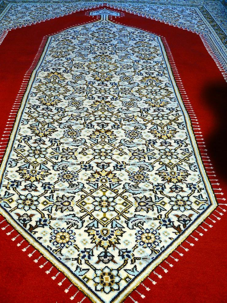 Bild 2: Orientteppich Ghom mit Seide 220x138 TOP (T035)