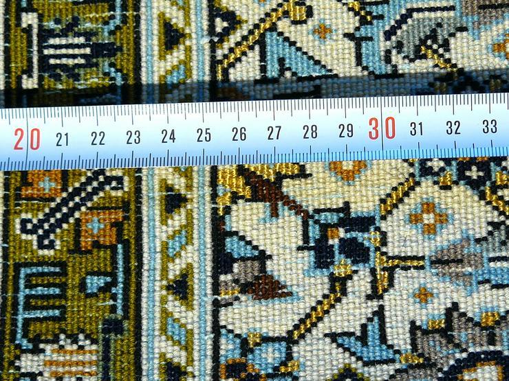 Bild 6: Orientteppich Ghom mit Seide 220x138 TOP (T035)