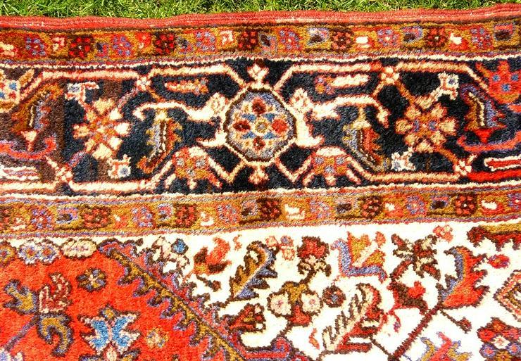Bild 6: Orientteppich Heriz antik 348x235 (T095)