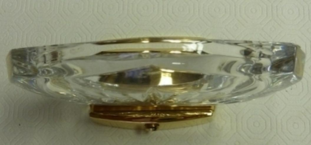 Keuco - Seifenhalter GO 24 K vergoldet mit Kristallglas klar