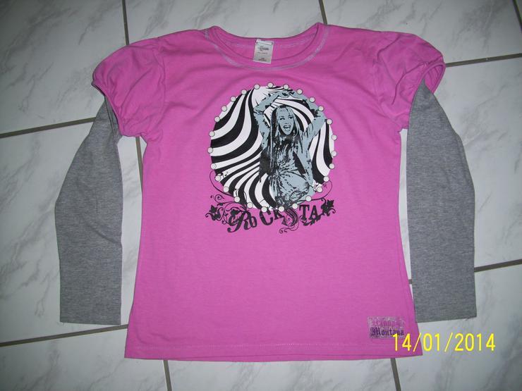 Langarmshirt von Hannah Montana, Gr. 958/964 für starke Kids