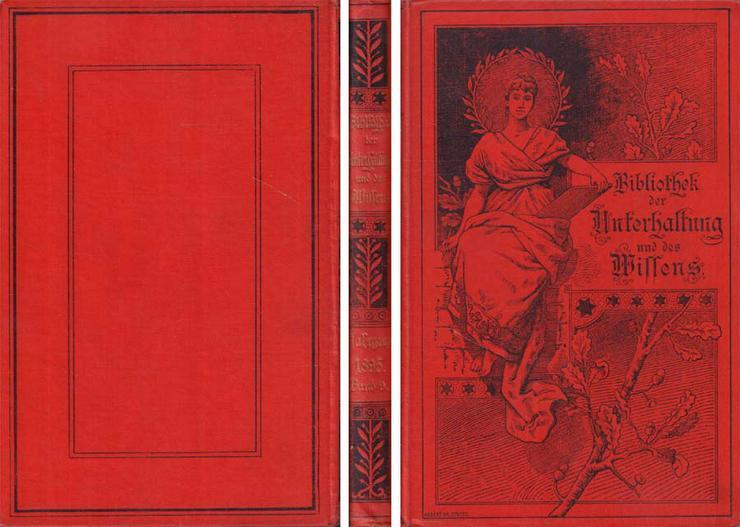 Buch - Bibliothek der Unterhaltung und des Wissens Jahrgang 1895 - 9. Band