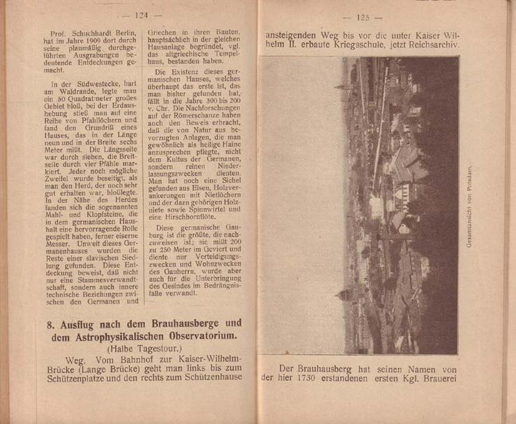 Bild 4: Buch - Potsdam die Kunst- und Gartenstadt - Führer durch Potsdam und Umgebung