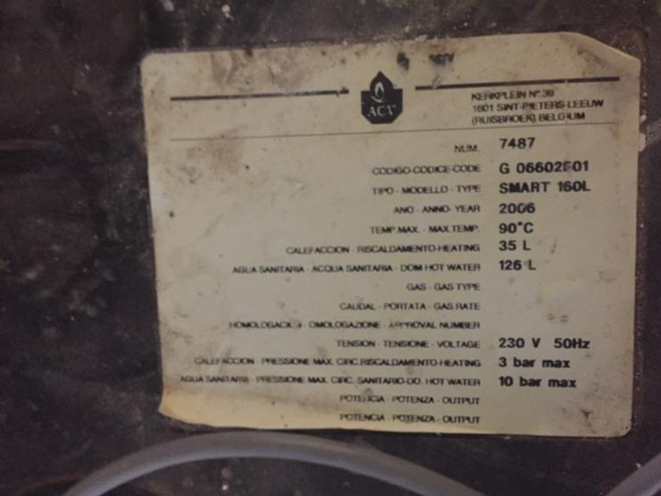 Bild 3: Junkers Gasbrennwertanlage Cerasmart ZSB 7-22 A/23