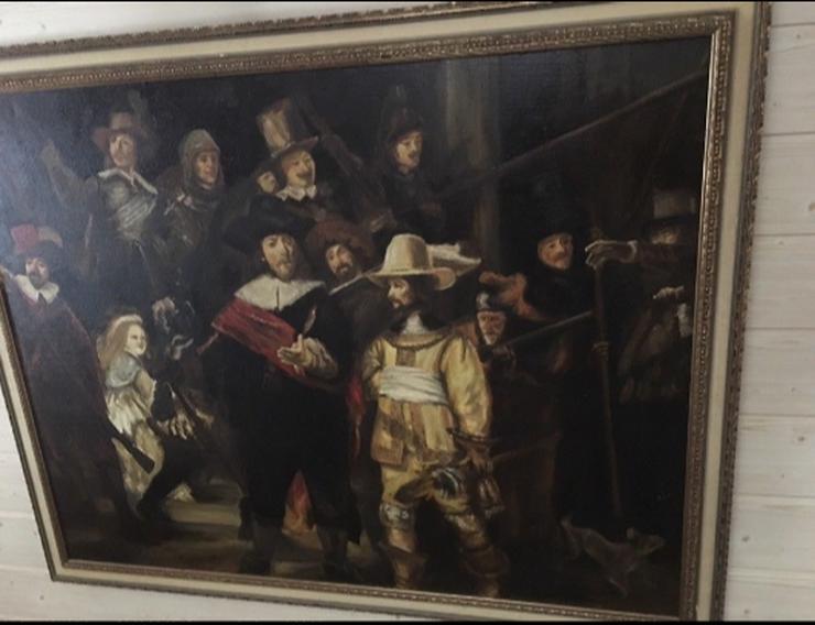 Handgemaltes Rembrandt Gemälde