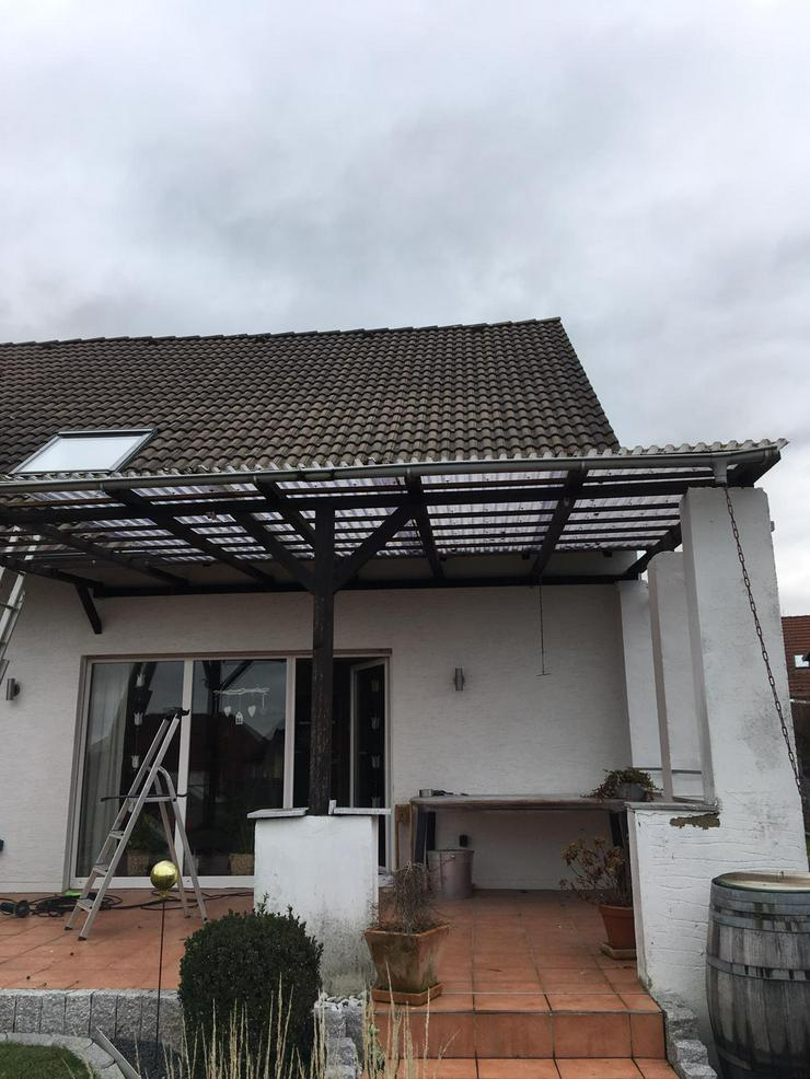 Terrassenüberdachung, Planung, Beratung