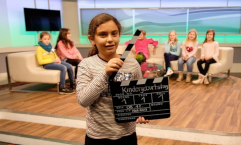 "TV - Kindergeburtstag ""Kids on TV"""