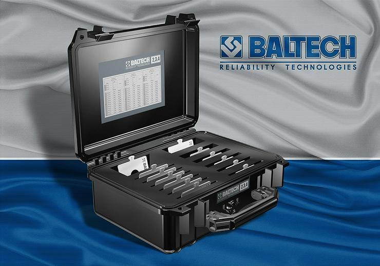 BALTECH-12347 - plaque en métal, calibrés pour le centrage de la doublure