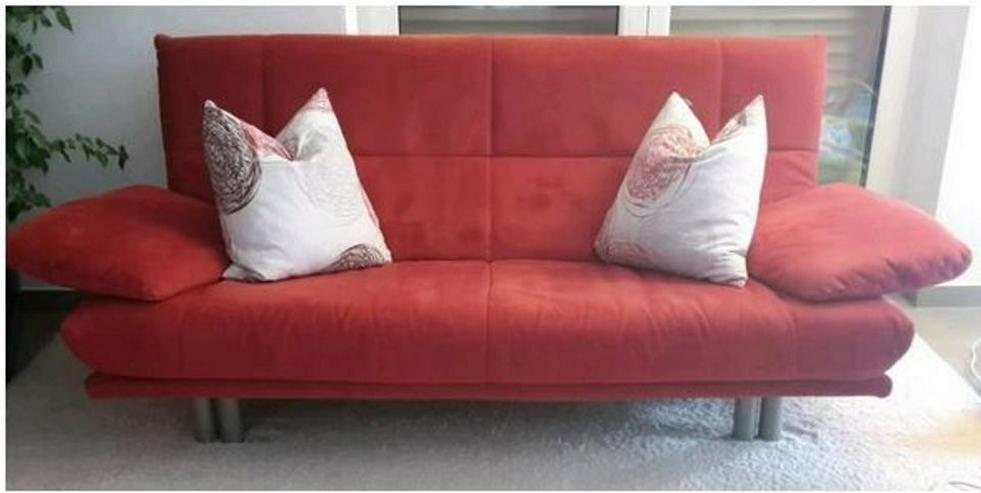2 guterhaltene Sofas (Sitzgruppe 2-Sitzer und 3-Sitzer) der Firma Rolf Benz