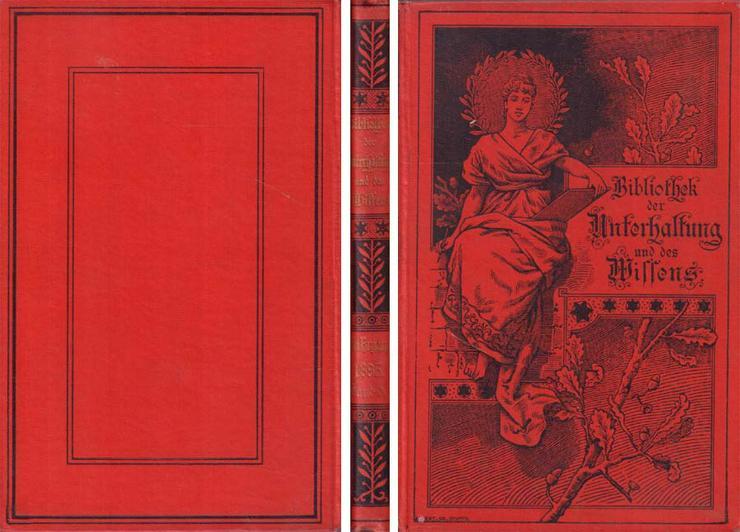 Buch - Bibliothek der Unterhaltung und des Wissens Jahrgang 1895 - 6. Band