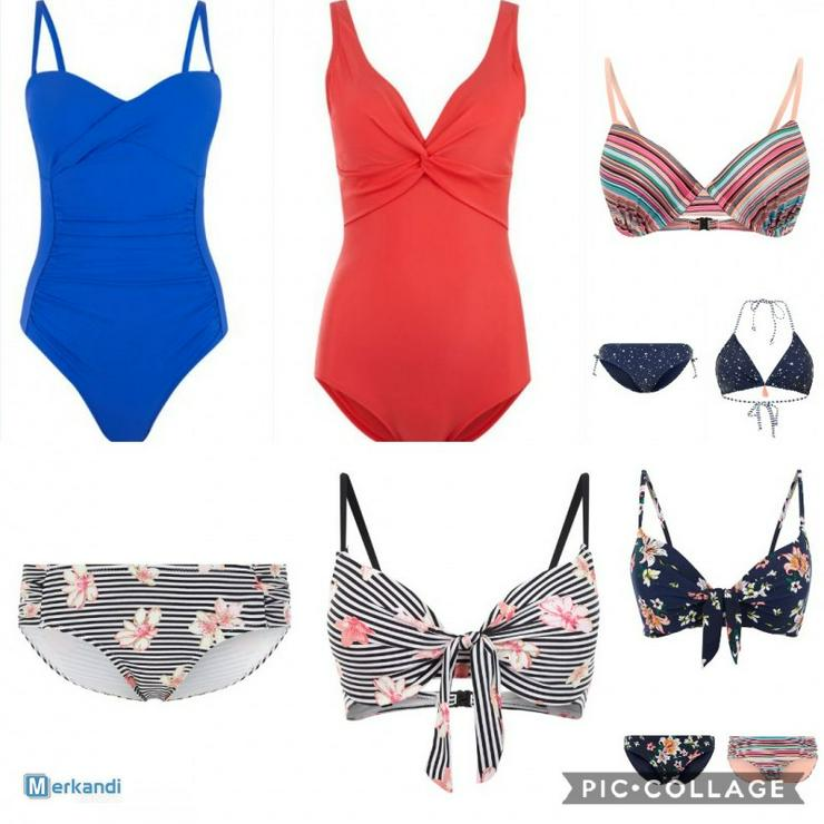 Günstige  Bademode Bikini Sommermode Pack 100 x 400 € - Größen 40-42 / M - Bild 1