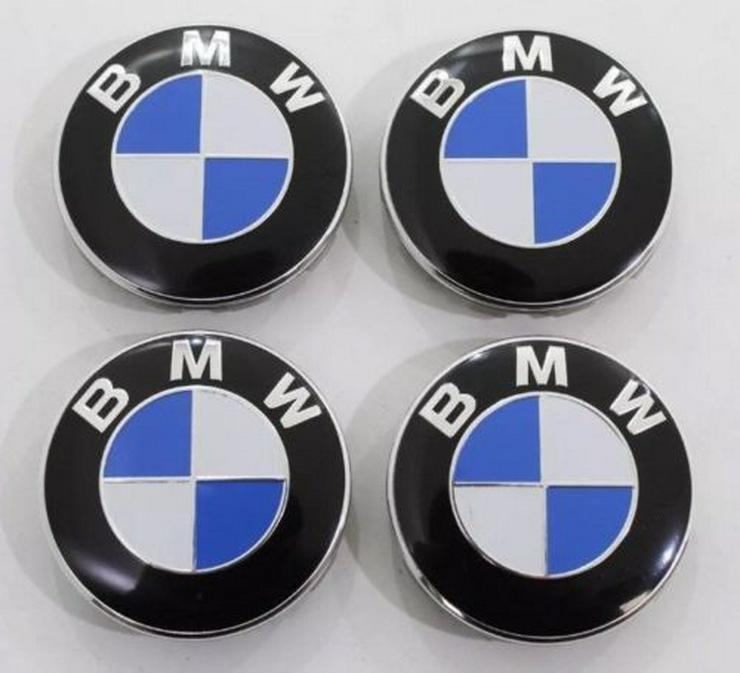 4 Stück NEU BMW 68mm NABENKAPPEN Nabendeckel 36136783536
