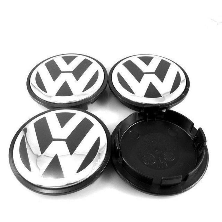 Original 4 Stück VW Volkswagen Nabenkappen Nabendeckel Felgendeckel 70 mm 7L6601149B