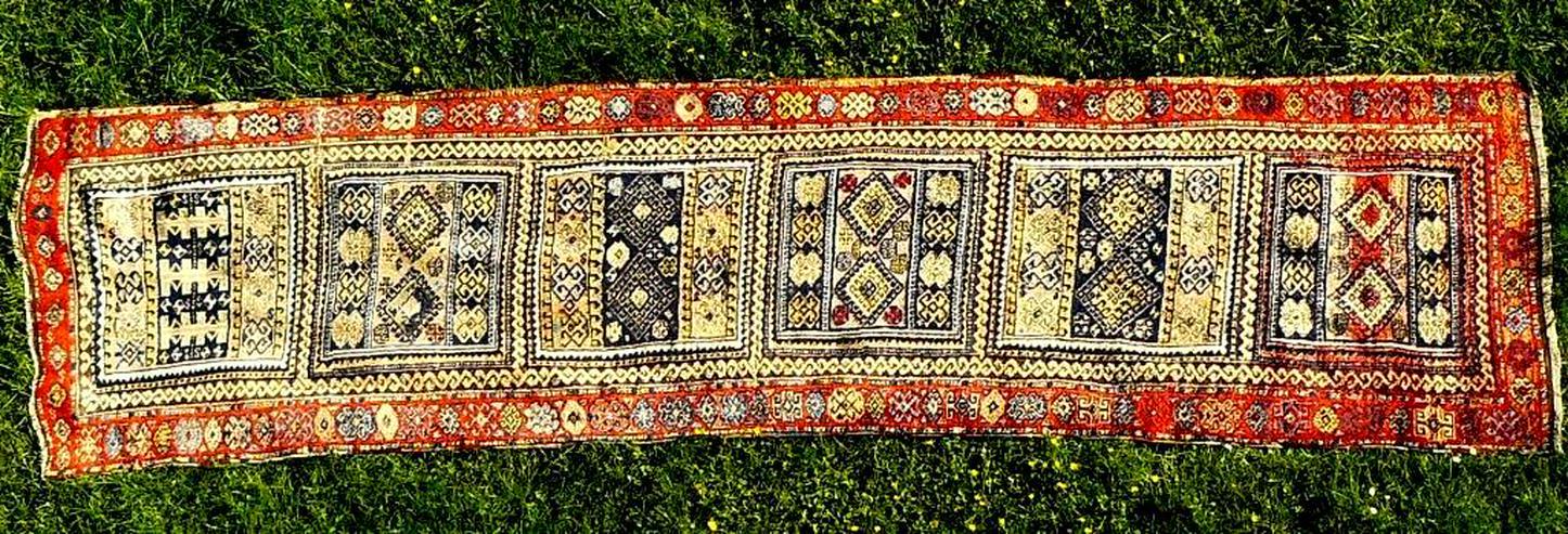 Bild 2: Orientteppich Konya 18te Jhdt. 383x96 (T032)